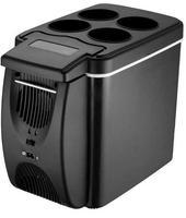 12V Mini Car Warmer And Cooler Fridge 6L Portable Device