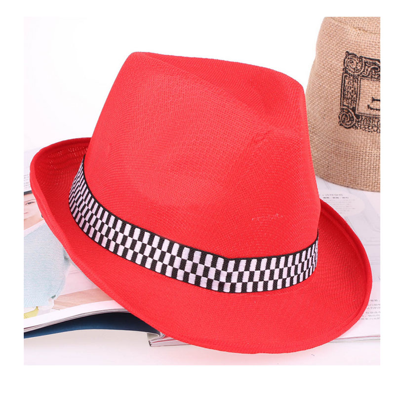 Herzhaft Frauen Hut Für Männer Hut Damen Sommer Strandkappe Sonnenhut Weibliche Panama Männlichen Gangster Trilby Mode Sonnenblende Kappe Großhandel Sonnenhüte Bekleidung Zubehör