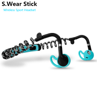 S Wear Stick Bluetooth Wireless Sport Headset Stereo Bass Smart Phone Music Calls Headphone With Mic