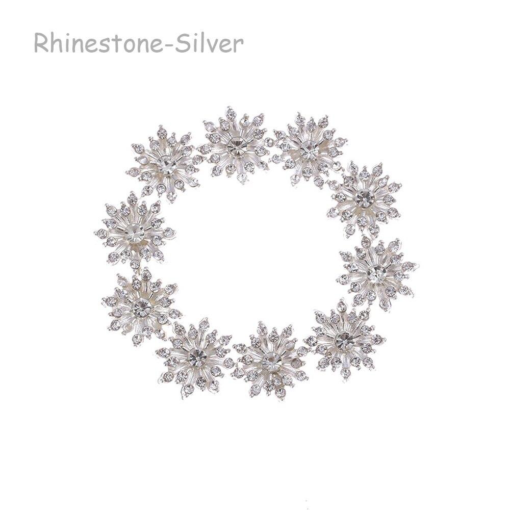 Rhinestone -Silver