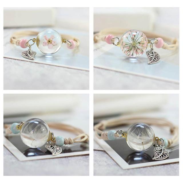 Four-Leaf Clover Charm Bracelet