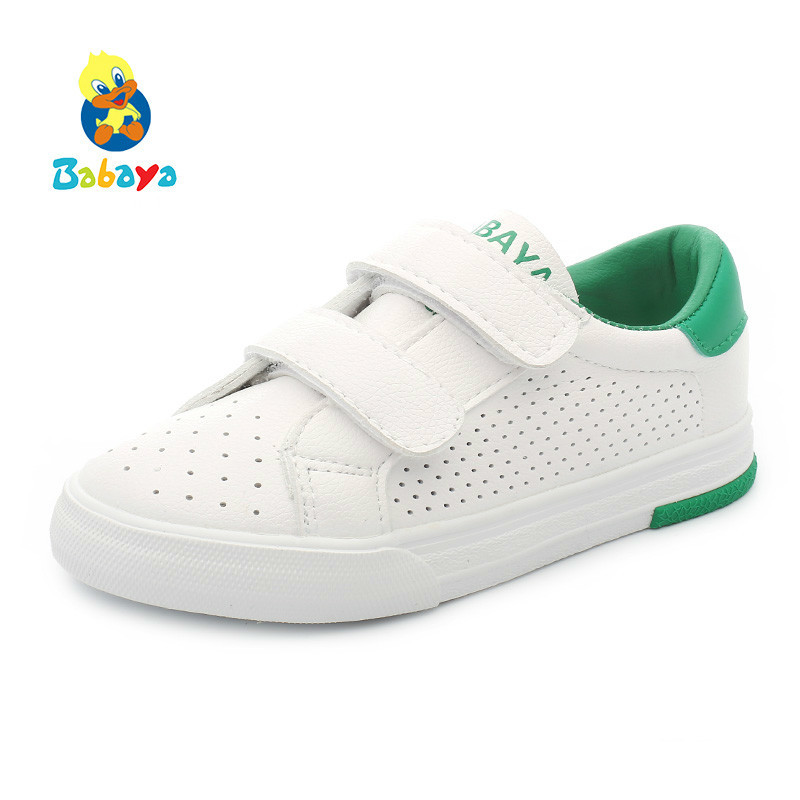 Children Casual Shoes Girls Sneakers Summer Breathable Boys Running Shoes 2018 New Spring Kids Sports Shoes For Girl White Mesh
