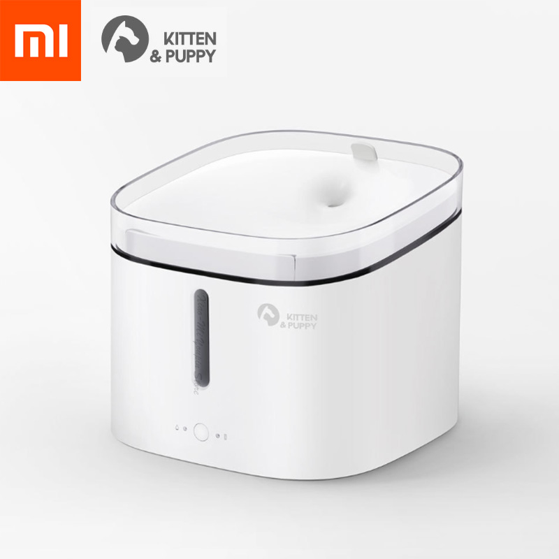 Xiaomi Mijia Kitten Puppy Pet Water Dispenser Cat Living Water Fountain 2L Electric Fountain Automatic Smart