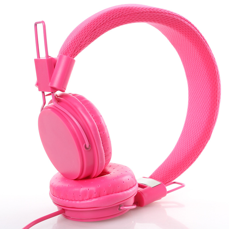 Adjustable Headband Mic headset Earphone Headphone 3.5MM wired foldable bass headphones stereo For iphone6s S6 tablet