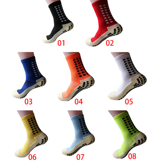 High Quality Anti Slip Football Soccer Socks