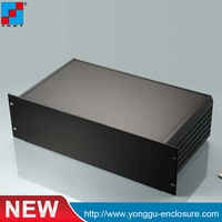 YGH 002 482 132 250 Mm Wxhxd 3u 19 Inch Rack Mount Chassis Black Color Brush