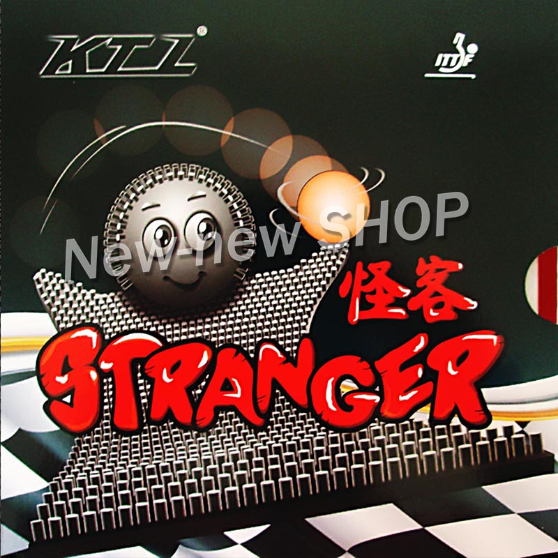 KTL Stranger Long Pips-Out Table Tennis (PingPong) Rubber (without Sponge)