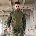 Trueguard 2016 Resposta Tática de Combate Uniformes 1/4 Zip camisa Camisa Trópico 65/35 Poly Cotton Ripstop Combate Multicam MTP