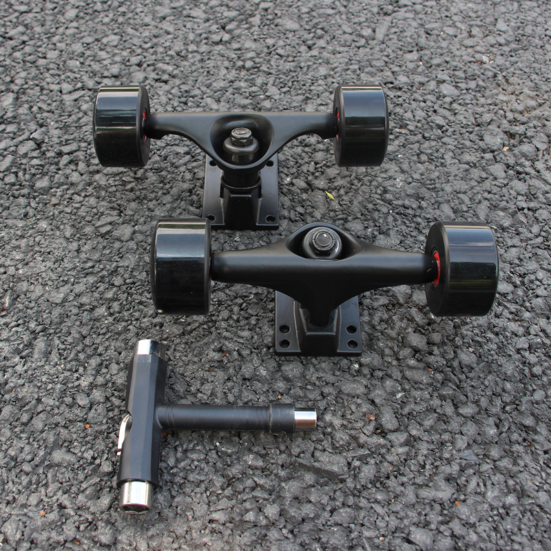 5inch Black Skateboard Truck 55*32mm 78AB Skateboard ...