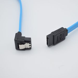 Image 5 - 1 PC גבוהה מהירות ישר ימין זווית 6 Gbps 50 CM SATA 3.0 כבל 6 GB/s SATA III SATA 3 כבל שטוח נתונים כבל עבור HDD SSD