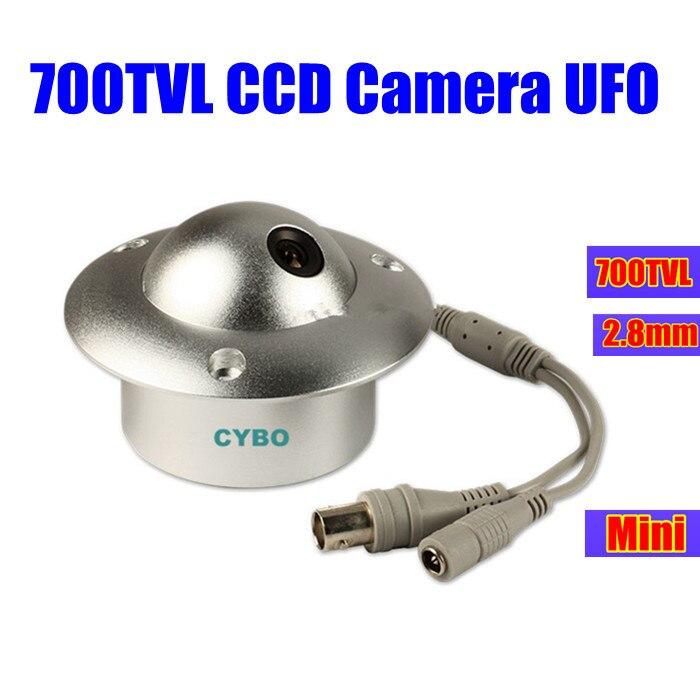 sony ccd cctv Camera 700TVL COLOR 2.8mm mini wide angle Video suveillance camera UFO for elevator lift