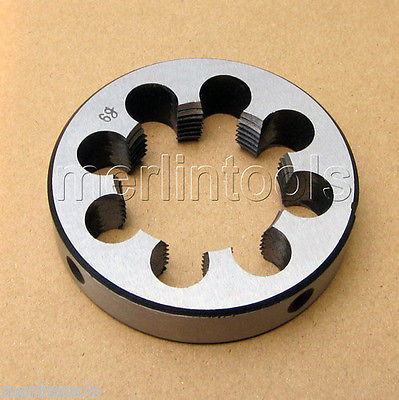 56mm x 1.5 Metric Right hand Thread Die M56 x 1.5mm Pitch 52mm x 2 metric right hand thread die m52 x 2 0mm pitch