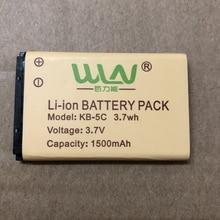 WLN batteria KD C1 walkie talkie batteria 1500mAh 7,4v batteria radio bidirezionale batteria ricaricabile originale agli ioni di litio per WLN