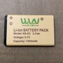 WLN battery KD C1 walkie talkie battery 1500mAh 7,4v two way radio battery Original Rechargable Li ion Battery Pack for WLN