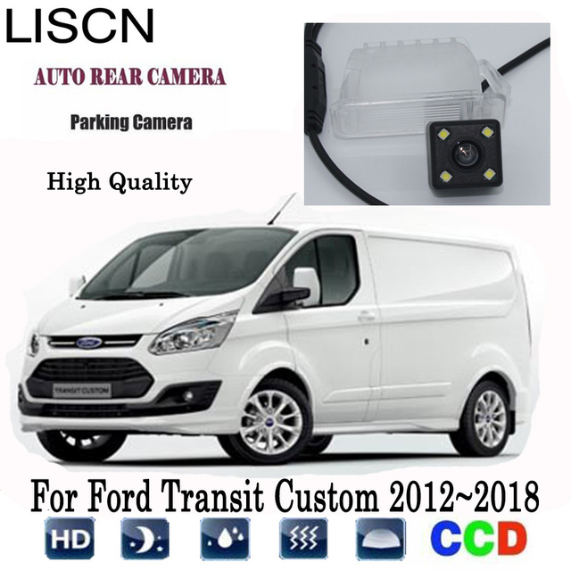 Młodzieńczy Rear View Camera For Ford Transit Custom 2012~2018 2013 2014 2015 UM23