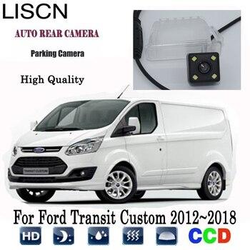 Rear View Camera For Ford Transit Custom 2012~2018 2013 2014 2015 2016 2017 Car Rear Camera / License Plate Light Camera
