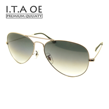 ITAOE R 3025 Classical Pilot Design Sunglasses UV400 Top Alloy Tempered Glass Unisex Men Women Eyewear Frames Glasses Spectacles