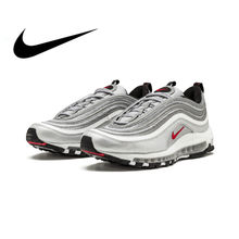 differently 16675 eb211 Original Nike Air Max 97 OG QS 2017 RELEASE Running Shoes for Men Official  Genuine Breathable
