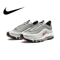 Original Nike Air Max 97 OG QS 2017 RELEASE Running Shoes for Men Official Genuine Breathable Outdoor Sports Shoes New Arrival