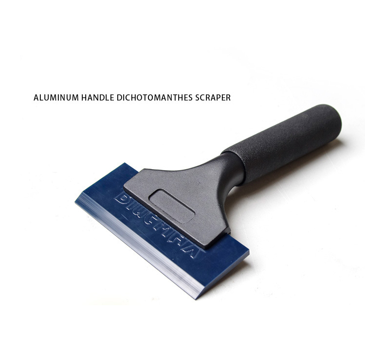 Image 4 - Blue Squeegee PRO Handle Water Wiper Vinyl Window Tint Glass Wrapping Car Tools QH 02B-in Car Stickers from Automobiles & Motorcycles
