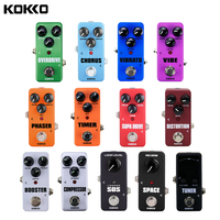 KOKKO Power Supply And Guitar Effect Pedal Overdrive Space Booster Distortion Supa Drive SOS Loper Compressor