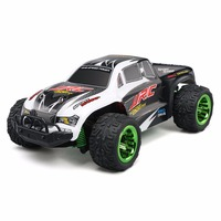 RC Monster Truck RTR 30km H Aluminum Alloy Chassis LCD Screen Transmitter 1 26 Mini Brushed