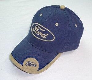 Image 2 - 2019 neue 3D Ford Hut Cap Auto logo Baseball Cap Hut Casual Trucket Hut