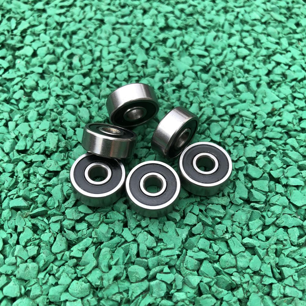 50pcs 628-2RS  8*24*8 Miniature Rubber Sealed Deep Groove Ball Bearing   628RS  628 2RS   8x24x8 Mm