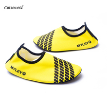 Childrens diving shoes barefoot skin sock summer outdoor swimming sports boys girls seaside beach soft parent-child