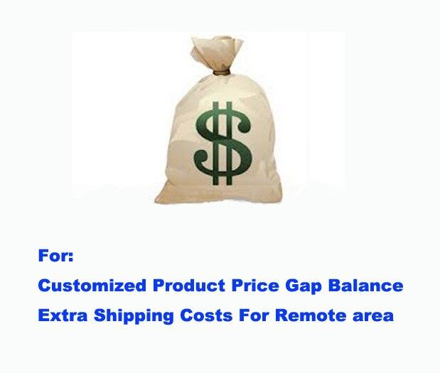 Дополнительные сборы по специальной ссылке оплаты для заказной цены продукта разрыв баланса и стоимость доставки для отдаленной области