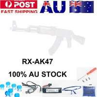 Arma de Brinquedo Brinquedo Zhenduo RXAK47 Gel bola blaster Austrália estoque