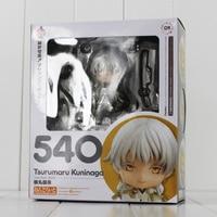 10cm Tsurumaru Kuninaga Game Touken Ranbu Online Figure Tsurumaru Kuninaga Nendoroid 540 Mini PVC Figure Toy