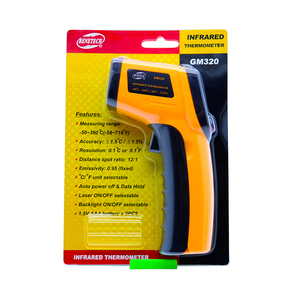 Image 5 - Digital gm320 Infrared Thermometer non contact infrared thermometer temperature Pyrometer IR Laser Point Gun   50~380 degree