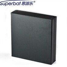 "Superbat 4.49*1.30*6.30 ""알루미늄 114*33*160mm 계기 PCB 접합 전자 인클로저 증폭기 섀시 HIFI 진공관"
