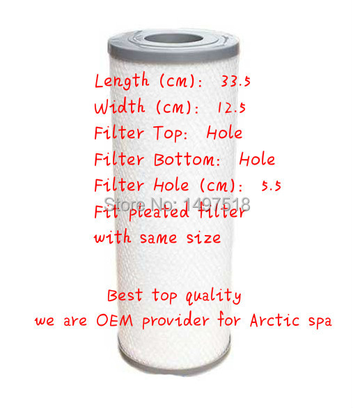 Arctic Spa Pure Silver Sentinel Filter Premium filter top quality best spa filter suit Most china spas US hot tub and so on 6 pcs micron arctic spa filter for arctic spas 2009 800 sqf active skim micro filter cartridge