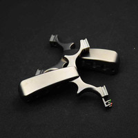 Powerful Slingshot Catapult Hunting Titanium alloy Cutting with Rubber Band Sight Outdoor Shooting Game