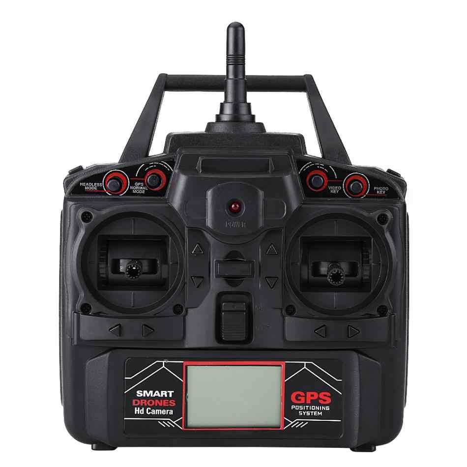 X191 Wi-Fi высота Удержание RC Quadcopter пульт дистанционного Управление Drone игрушек Безголовый режим один ключ возвращение gps вертолет с 720 P камера