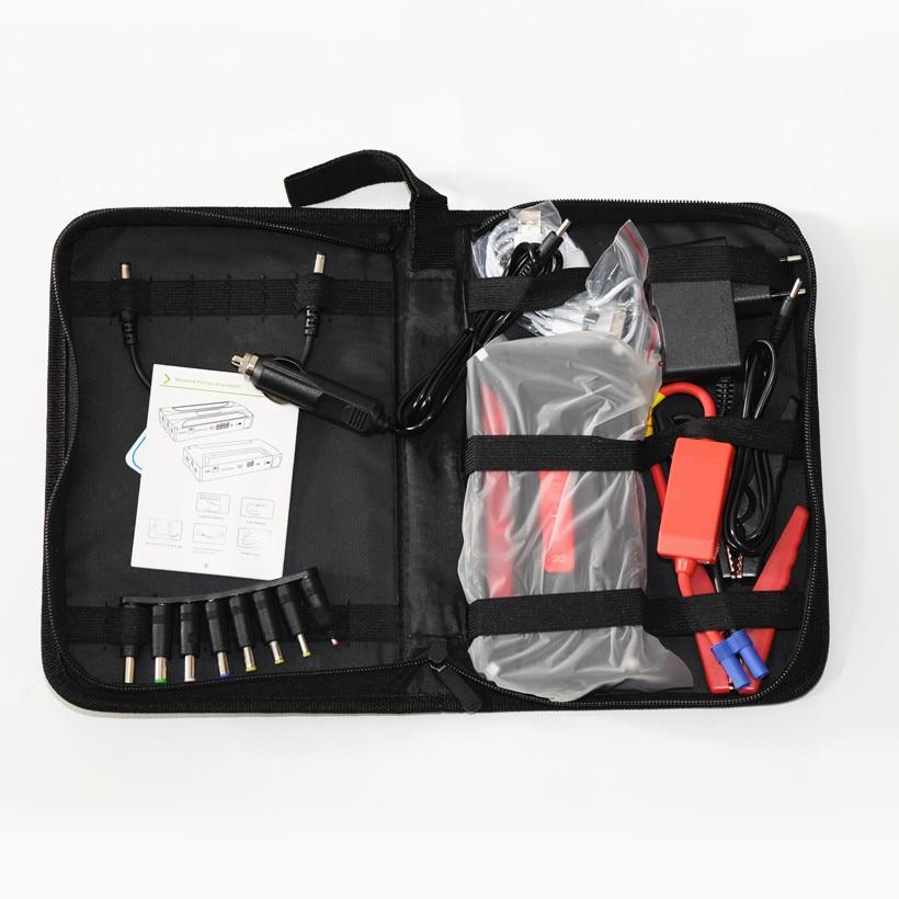 Автомобильное пусковое устройство, лучшее аварийное зарядное устройство, многофункциональное мини портативное зарядное устройство, пусковое устройство - Цвет: 12800 cloth bag