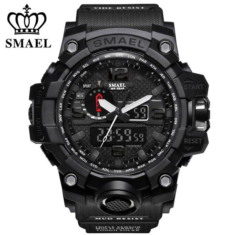 Luxury Brand Digital Watch Men Casual Watches Men s Waterproof Sport Watch LED Military Quartz Clock