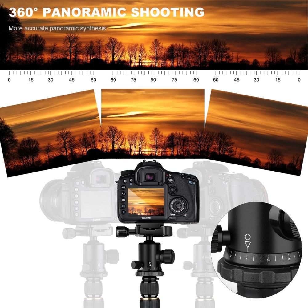 K&F CONCEPT KF-TM2515 fotoaparaadi statiivi kaasaskantav - Kaamera ja foto - Foto 4
