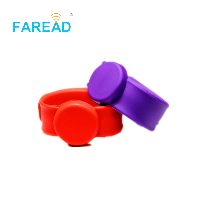 X100pcs Free Shipping RFID Wristband UHF Alien H3 For  Theme Park, Ticket System And Harsh Environment