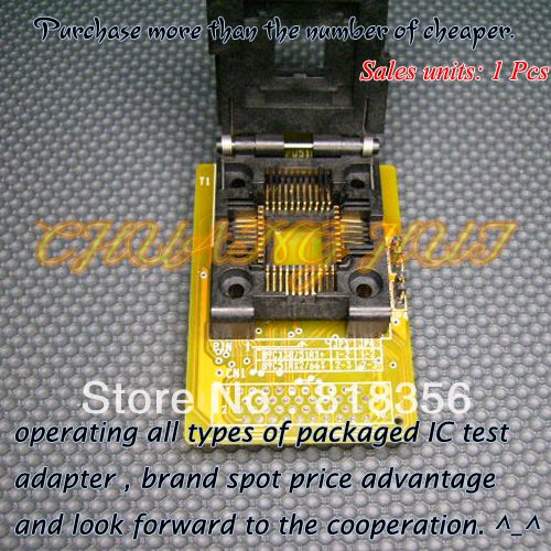 HEAD-MPU51RD2-PL Adapter HI-LO GANG-08 Programmer Adapter PLCC44/IC SOCKET(Flip test seat) xeltek private seat tqfp64 ta050 b006 burning test