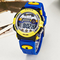 OHSEN Brand Children Watches LED Digital Quartz Cartoon Watch Outdoor Waterproof Wristwatches For Kids