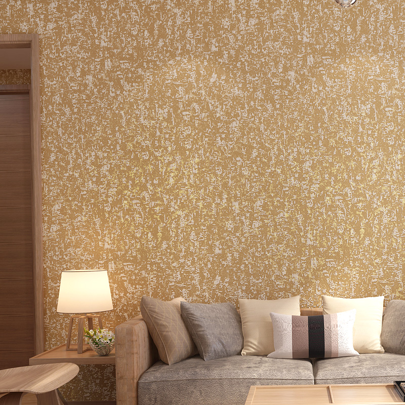 Home Decor Solid Color White Non Woven Wallpaper Modern Simple ...