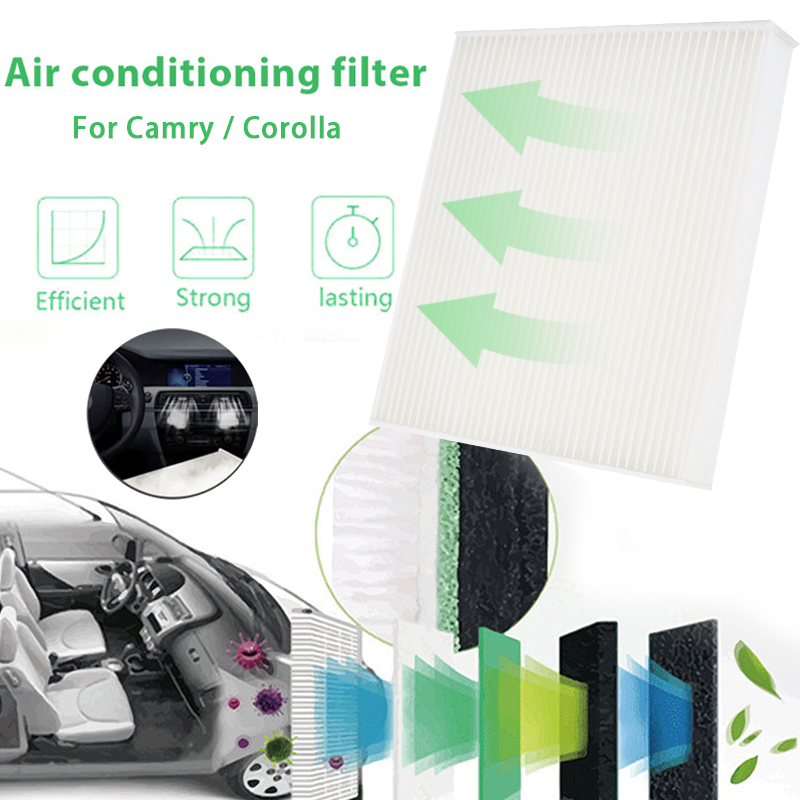 Автомобильный воздушный фильтр воздушный FilterCar Аксессуары Анти-Пыльца пыли для Camry/Reiz Corolla/Crown/ Vios/rongfang/Yaris/Highlander/RAV4/Corolla