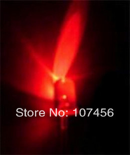 1000pcs 5mm Red Round High Power Super Bright Water Clear Led Leds 20,000 Mcd