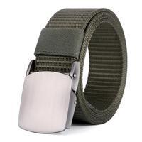 Nylon Web Duty Disegno della Cinghia Degli Uomini di Sport All'aria Aperta Tattico Cintura Con Fibbia In Lega