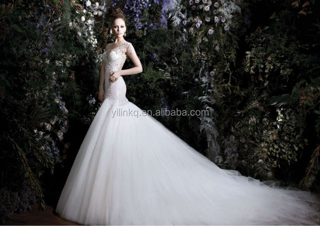 Mermaid Alibaba Beaded Wedding Dresses China Designer Patterns ...