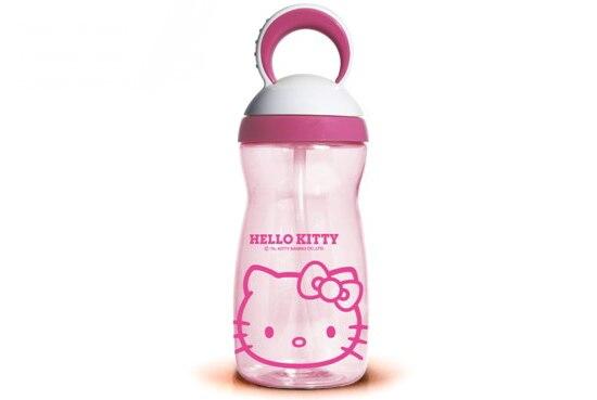 Free shipping 350ml Eco-friendly Plastic travel kettle 2013 NEW ARRIVE KITTY/Doraemon PC Bottle Sport water bottles for children