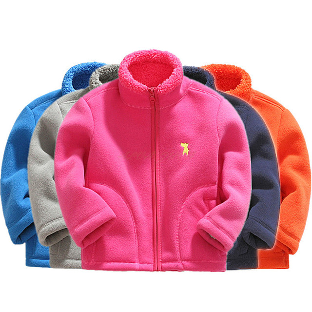 974018ef3a3e New 2018 Winter Children Hoodies Jackets And Coats Kids Lamb ...